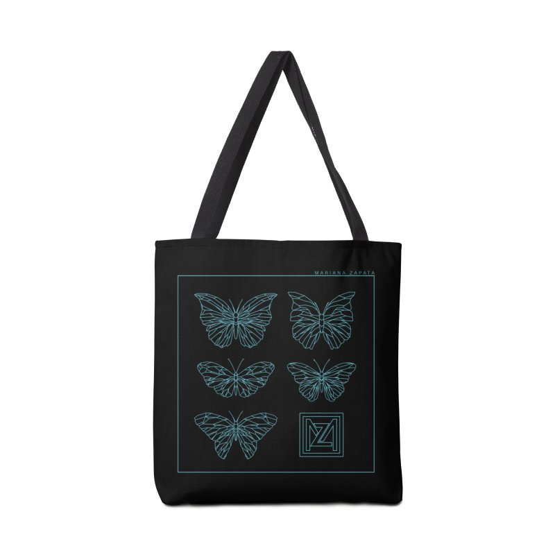 MZ Butterflies 1 Accessories Tote Bag Bag by M A R I A N A    Z A P A T A
