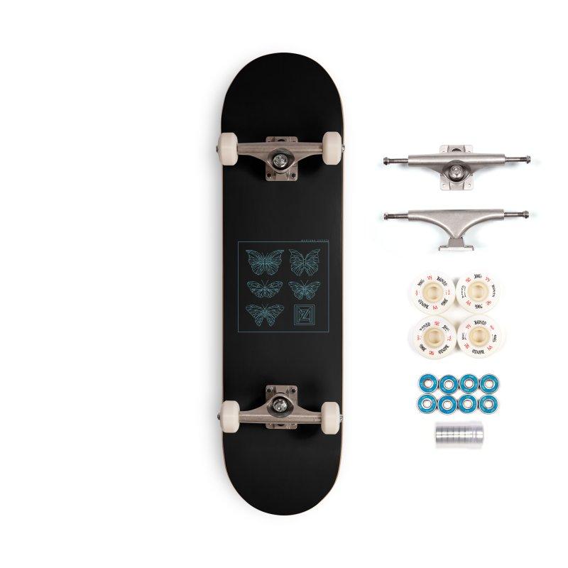 MZ Butterflies 1 Accessories Complete - Premium Skateboard by M A R I A N A    Z A P A T A
