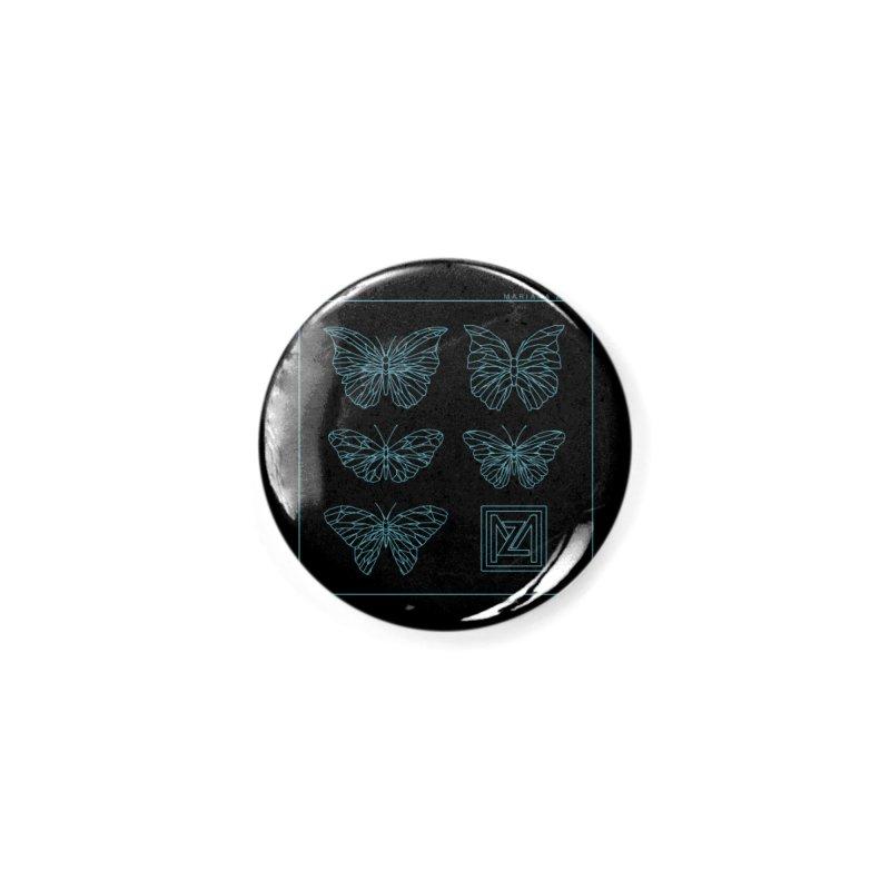 MZ Butterflies 1 Accessories Button by M A R I A N A    Z A P A T A