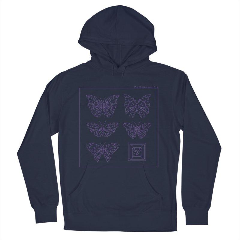 MZ Butterflies 2 Men's Pullover Hoody by M A R I A N A    Z A P A T A