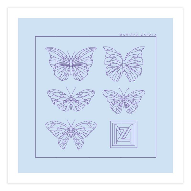 MZ Butterflies 2 Home Fine Art Print by M A R I A N A    Z A P A T A