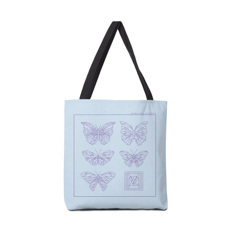 MZ Butterflies 2 Accessories Tote Bag Bag by M A R I A N A    Z A P A T A