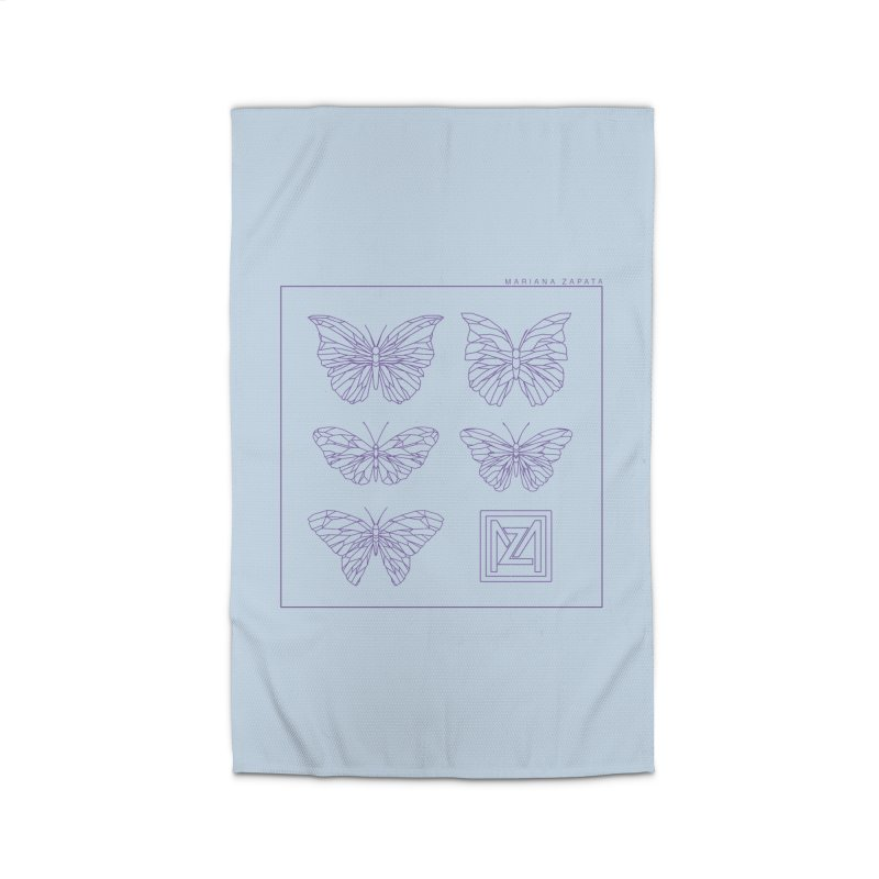 MZ Butterflies 2 Home Rug by M A R I A N A    Z A P A T A