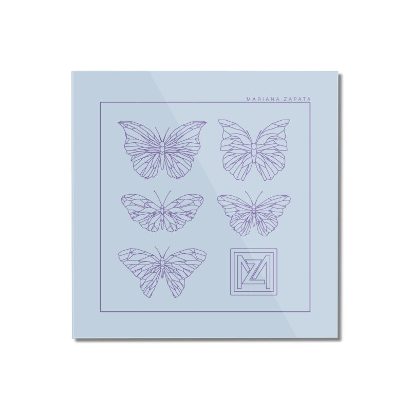 MZ Butterflies 2 Home Mounted Acrylic Print by M A R I A N A    Z A P A T A
