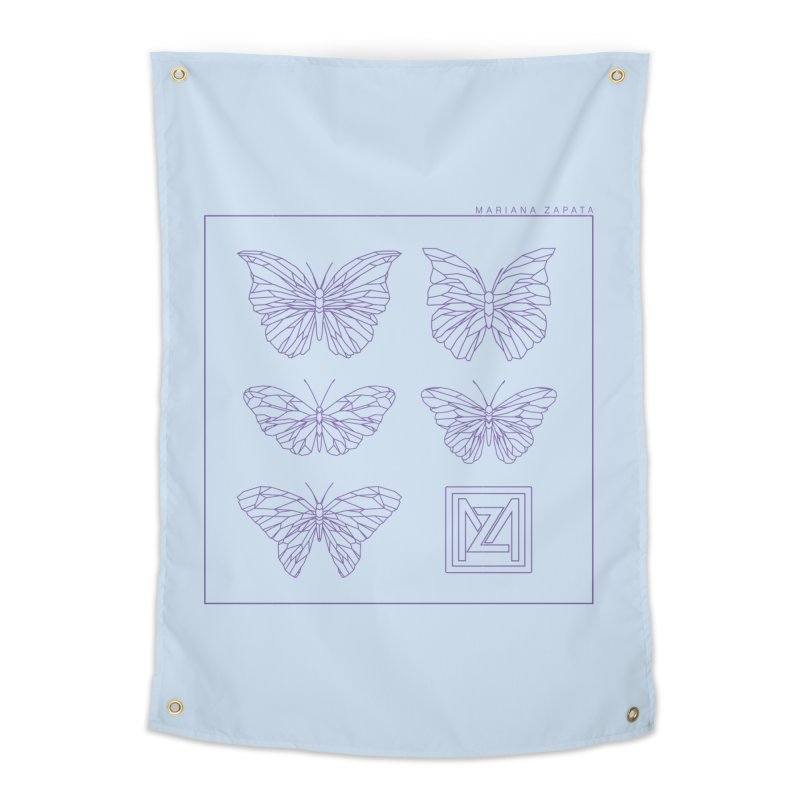 MZ Butterflies 2 Home Tapestry by M A R I A N A    Z A P A T A