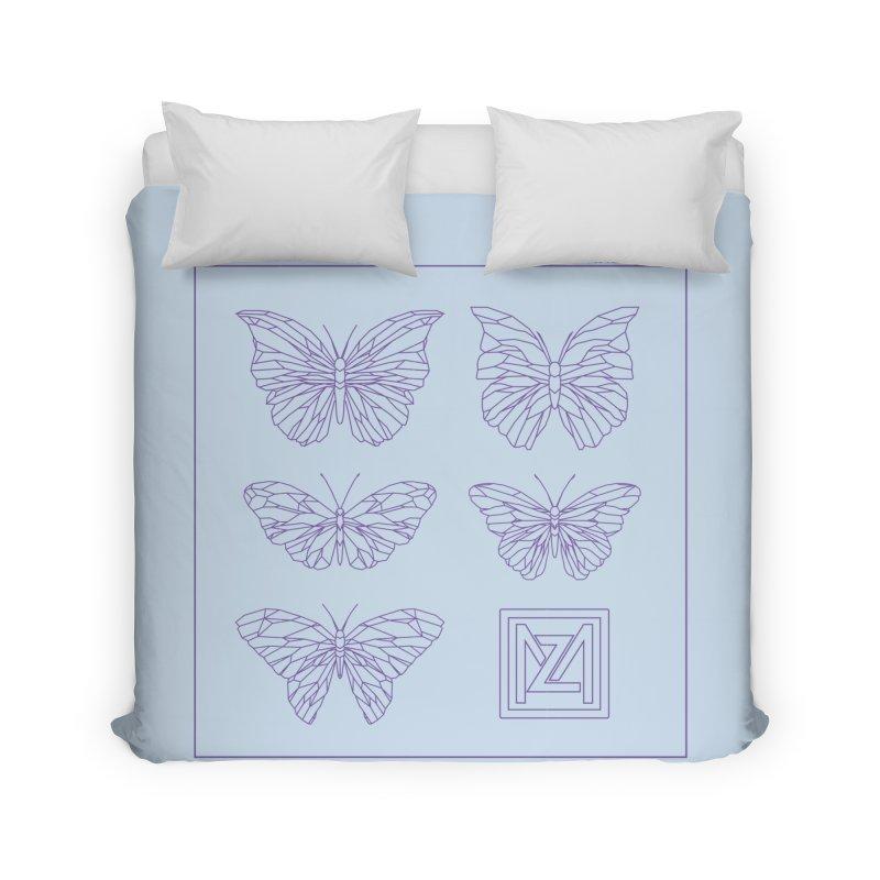 MZ Butterflies 2 Home Duvet by M A R I A N A    Z A P A T A