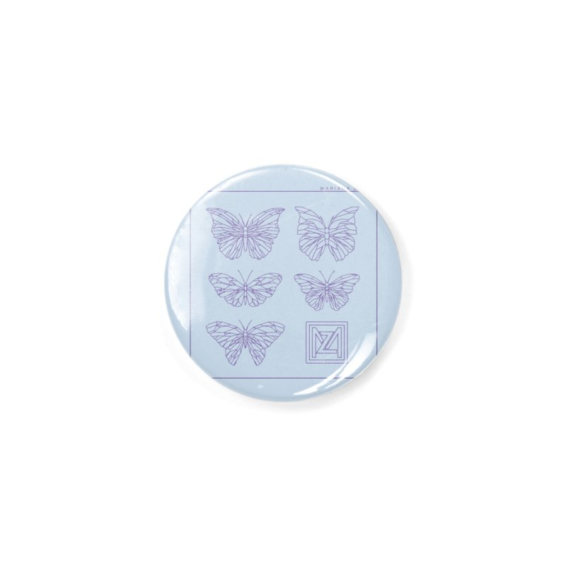 MZ Butterflies 2 Accessories Button by M A R I A N A    Z A P A T A