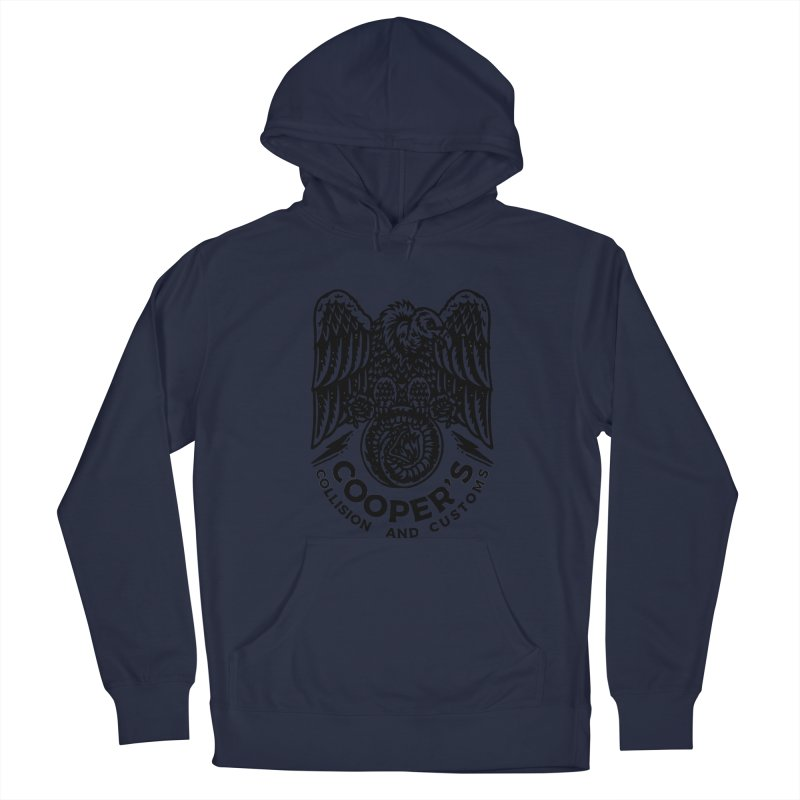 Cooper's Collision & Customs (Luna and the Lie) Men's Pullover Hoody by M A R I A N A    Z A P A T A