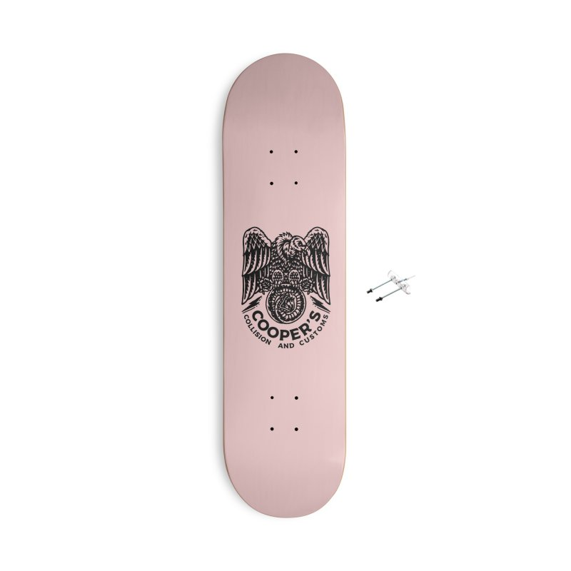 Cooper's Collision & Customs (Luna and the Lie) Accessories With Hanging Hardware Skateboard by M A R I A N A    Z A P A T A