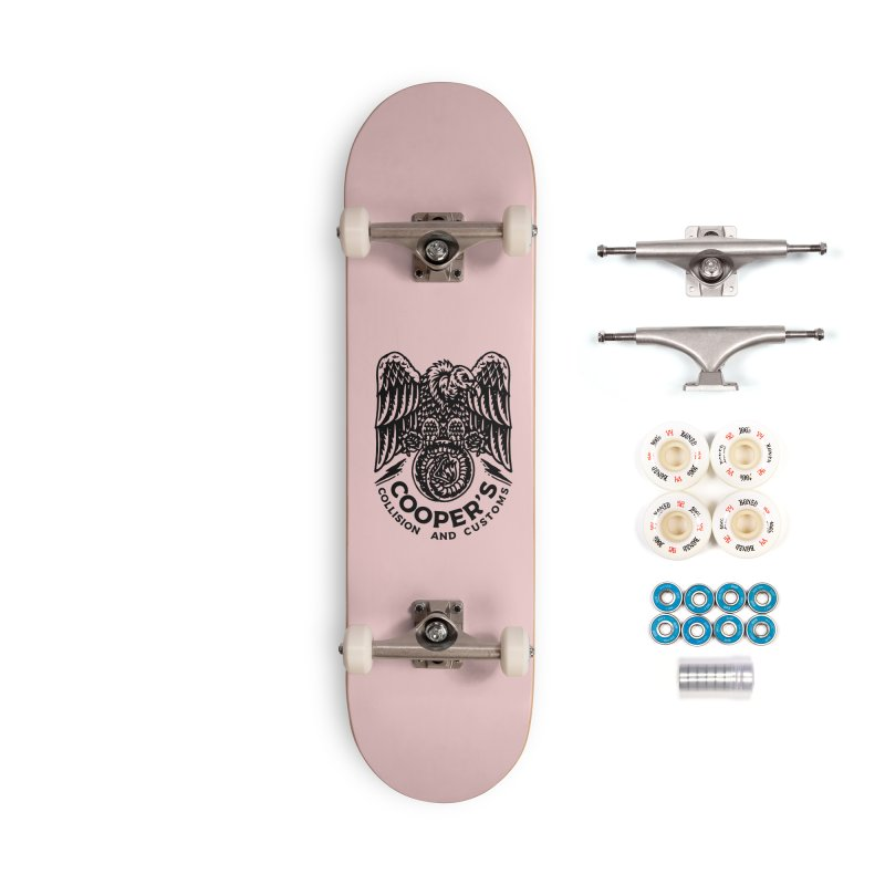 Cooper's Collision & Customs (Luna and the Lie) Accessories Complete - Premium Skateboard by M A R I A N A    Z A P A T A