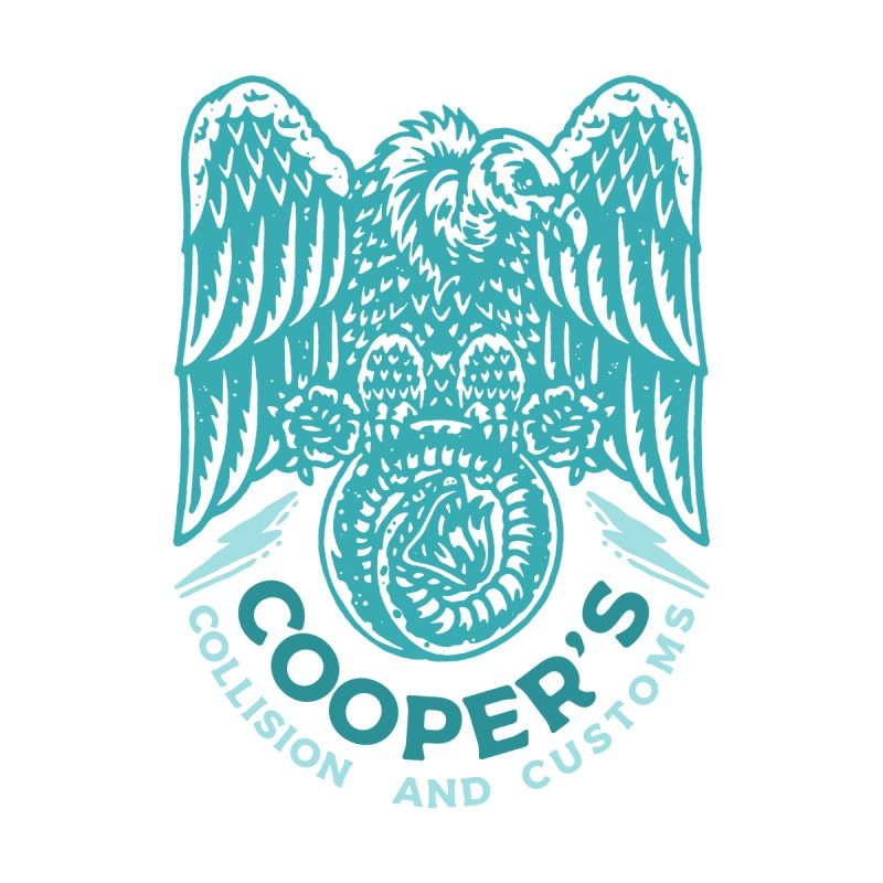 Cooper's Collision & Customs (Luna and the Lie) by M A R I A N A    Z A P A T A