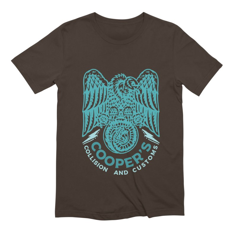 Cooper's Collision & Customs (Luna and the Lie) Men's T-Shirt by M A R I A N A    Z A P A T A