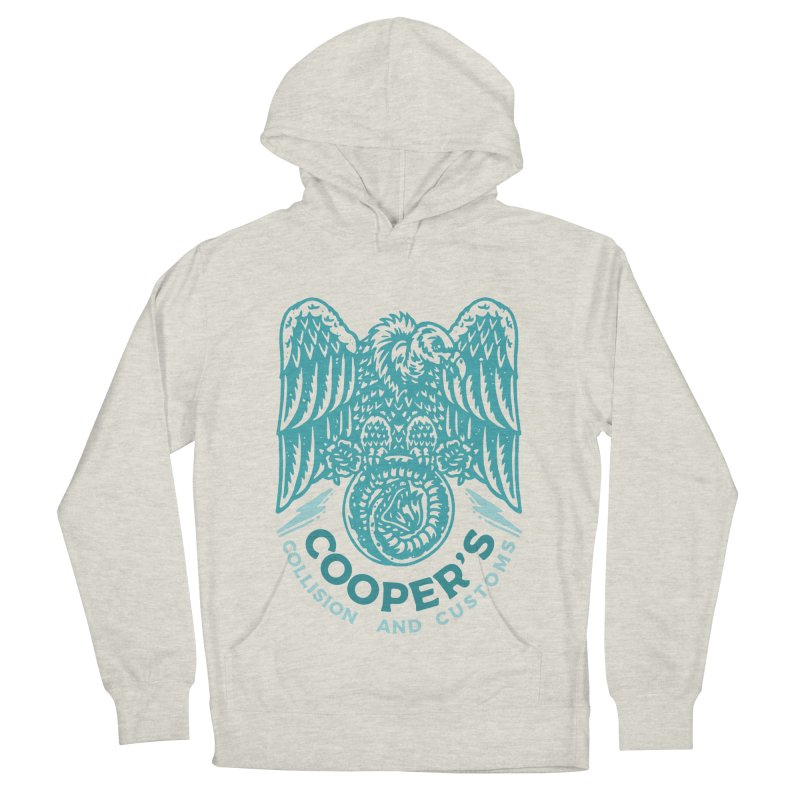Cooper's Collision & Customs (Luna and the Lie) Men's French Terry Pullover Hoody by M A R I A N A    Z A P A T A