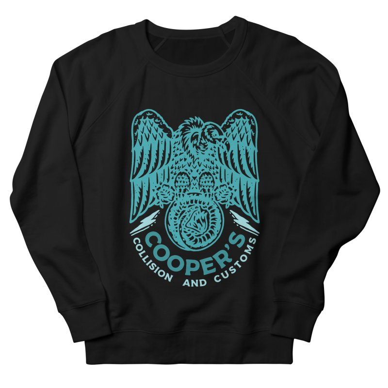 Cooper's Collision & Customs (Luna and the Lie) Men's French Terry Sweatshirt by M A R I A N A    Z A P A T A