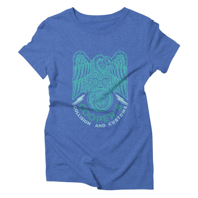Cooper's Collision & Customs (Luna and the Lie) Women's Triblend T-Shirt by M A R I A N A    Z A P A T A