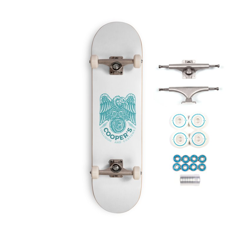 Cooper's Collision & Customs (Luna and the Lie) Accessories Complete - Basic Skateboard by M A R I A N A    Z A P A T A