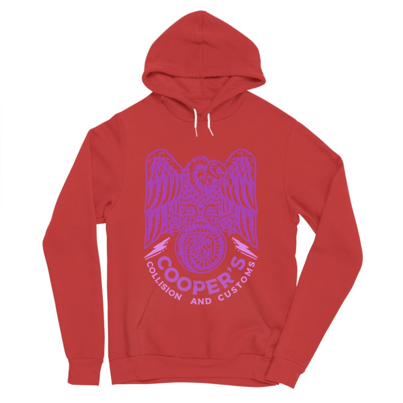 Cooper's Collision & Customs (Luna and the Lie) Women's Pullover Hoody by M A R I A N A    Z A P A T A