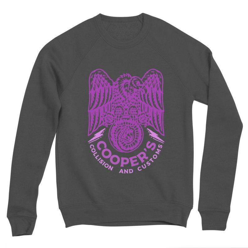 Cooper's Collision & Customs (Luna and the Lie) Women's Sponge Fleece Sweatshirt by M A R I A N A    Z A P A T A