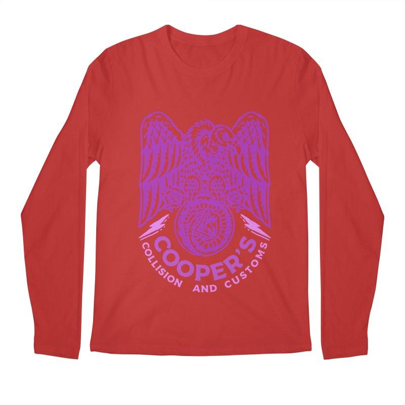 Cooper's Collision & Customs (Luna and the Lie) Men's Regular Longsleeve T-Shirt by M A R I A N A    Z A P A T A