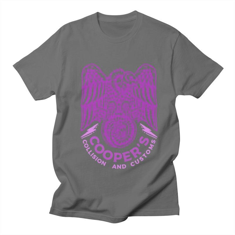 Cooper's Collision & Customs (Luna and the Lie) Women's Regular Unisex T-Shirt by M A R I A N A    Z A P A T A