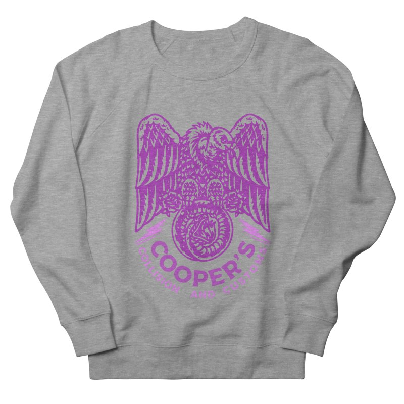 Cooper's Collision & Customs (Luna and the Lie) Women's French Terry Sweatshirt by M A R I A N A    Z A P A T A