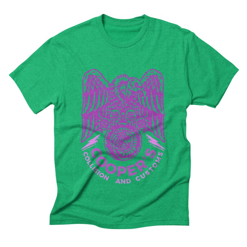 Cooper's Collision & Customs (Luna and the Lie) Men's Triblend T-Shirt by M A R I A N A    Z A P A T A