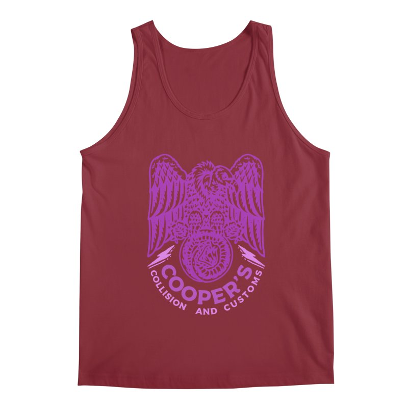 Cooper's Collision & Customs (Luna and the Lie) Men's Tank by M A R I A N A    Z A P A T A