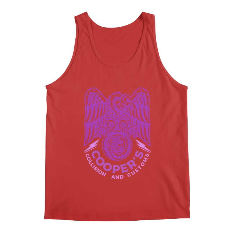 Cooper's Collision & Customs (Luna and the Lie) Men's Regular Tank by M A R I A N A    Z A P A T A