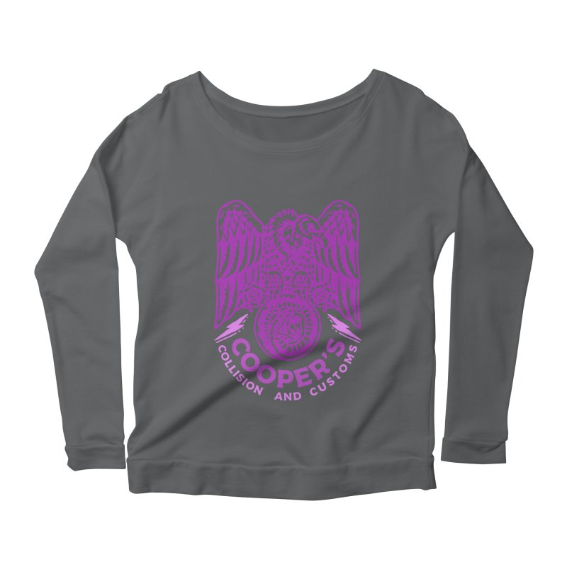 Cooper's Collision & Customs (Luna and the Lie) Women's Longsleeve T-Shirt by M A R I A N A    Z A P A T A