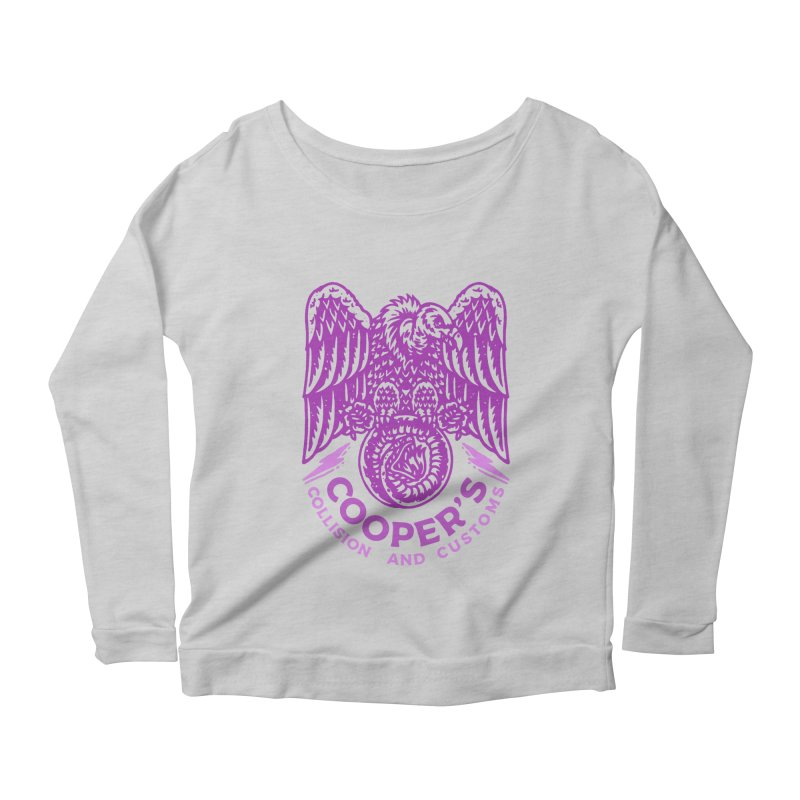 Cooper's Collision & Customs (Luna and the Lie) Women's Scoop Neck Longsleeve T-Shirt by M A R I A N A    Z A P A T A