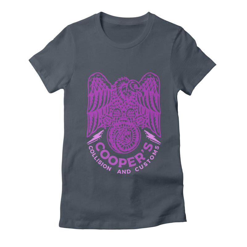 Cooper's Collision & Customs (Luna and the Lie) Women's T-Shirt by M A R I A N A    Z A P A T A