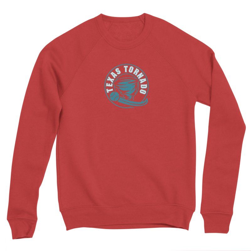 Texas Tornado (Wait for It) (Small Design) Men's Sponge Fleece Sweatshirt by M A R I A N A    Z A P A T A