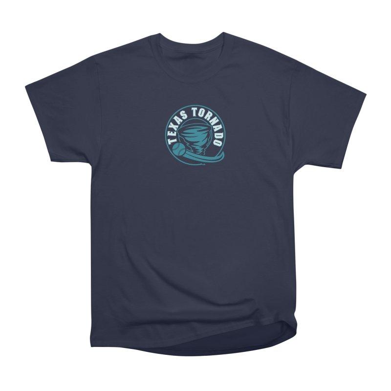 Texas Tornado (Wait for It) (Small Design) Women's Heavyweight Unisex T-Shirt by M A R I A N A    Z A P A T A