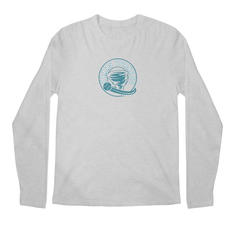 Texas Tornado (Wait for It) (Small Design) Men's Regular Longsleeve T-Shirt by M A R I A N A    Z A P A T A