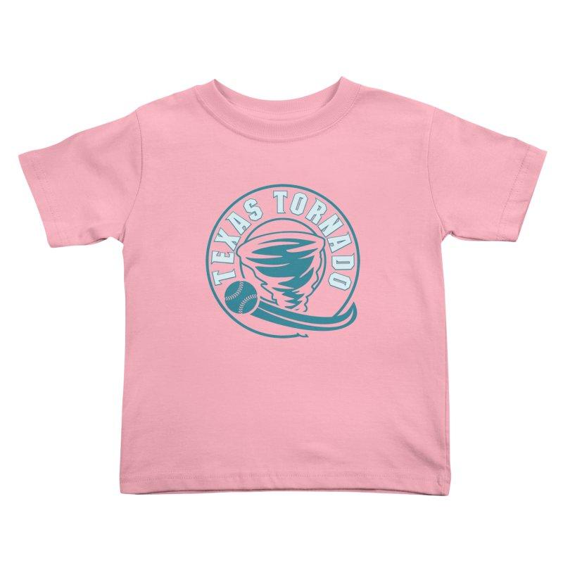 Texas Tornado (Wait for It) (Small Design) Kids Toddler T-Shirt by M A R I A N A    Z A P A T A