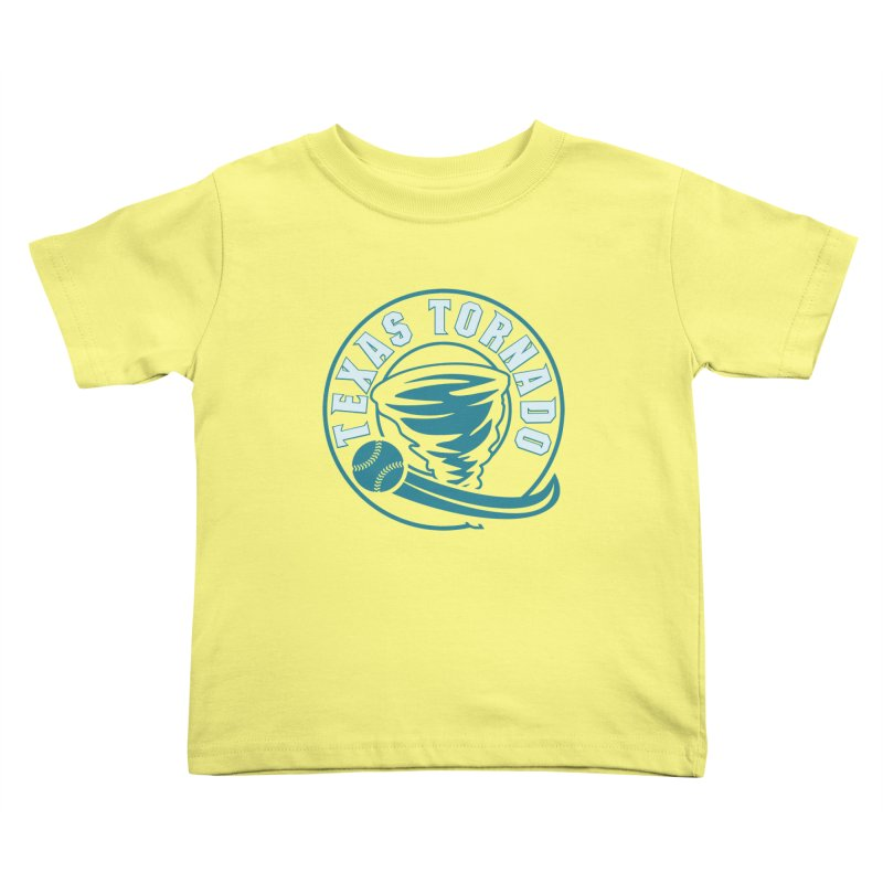 Texas Tornado (Wait for It) (Small Design) Kids Toddler T-Shirt by M A R I A N A    Z A P A T A