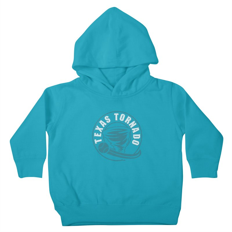 Texas Tornado (Wait for It) (Small Design) Kids Toddler Pullover Hoody by M A R I A N A    Z A P A T A