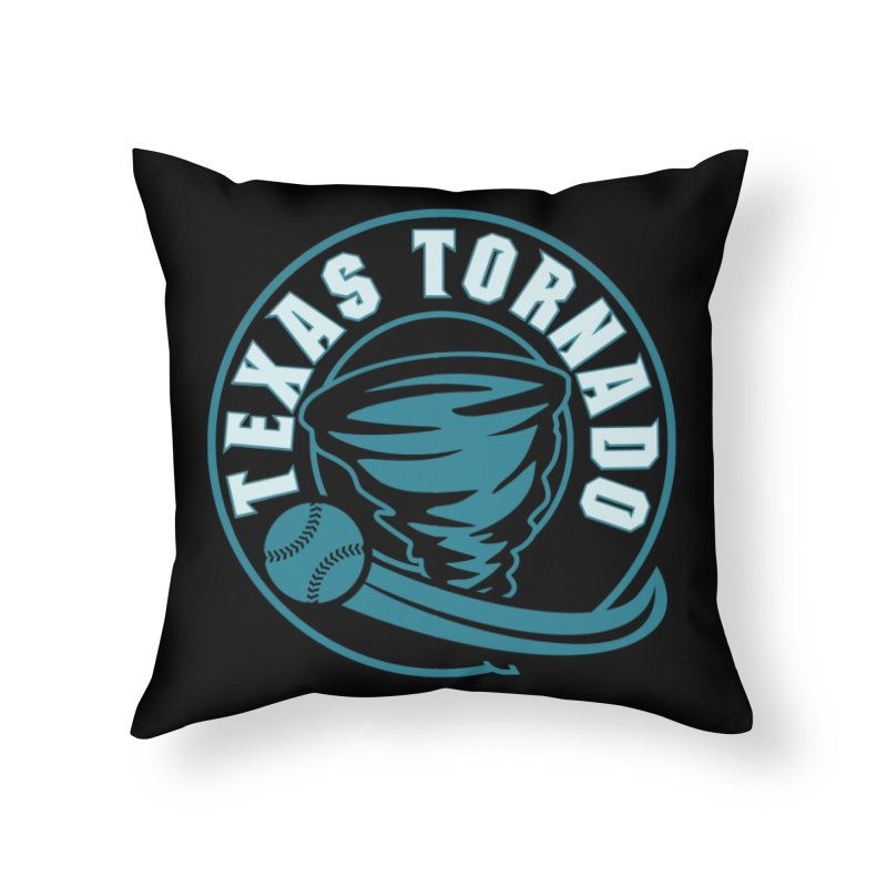 Texas Tornado (Wait for It) (Small Design) Home Throw Pillow by M A R I A N A    Z A P A T A