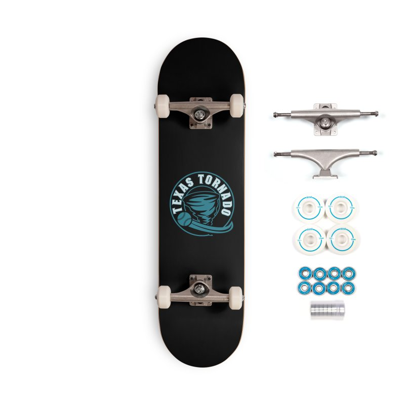 Texas Tornado (Wait for It) (Small Design) Accessories Complete - Basic Skateboard by M A R I A N A    Z A P A T A
