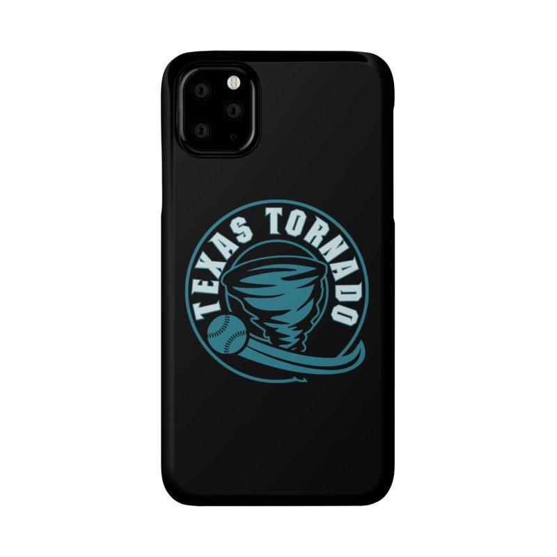 Texas Tornado (Wait for It) (Small Design) Accessories Phone Case by M A R I A N A    Z A P A T A