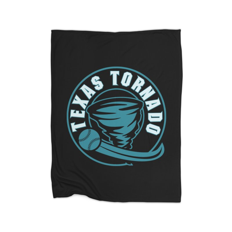 Texas Tornado (Wait for It) (Small Design) Home Fleece Blanket Blanket by M A R I A N A    Z A P A T A