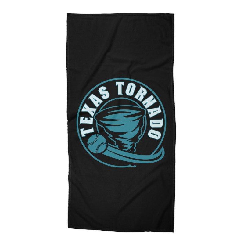 Texas Tornado (Wait for It) (Small Design) Accessories Beach Towel by M A R I A N A    Z A P A T A