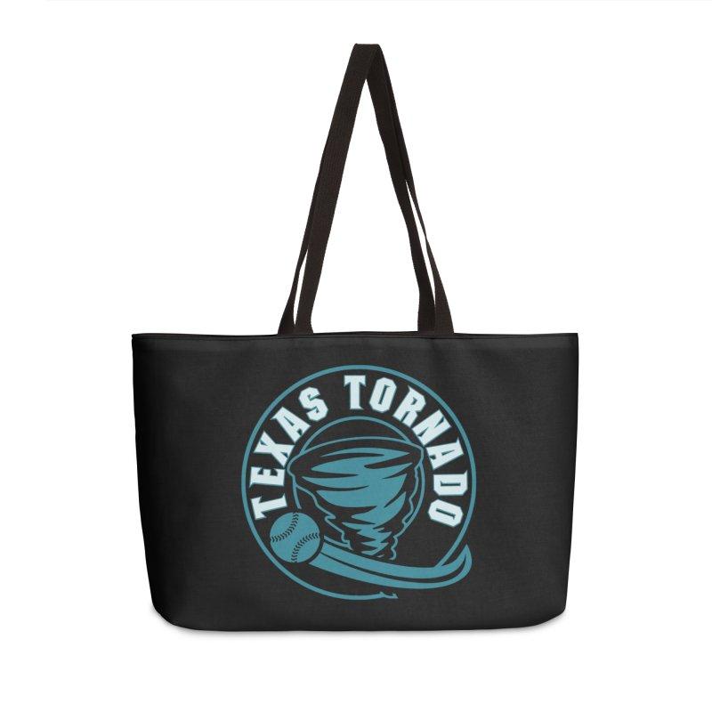 Texas Tornado (Wait for It) (Small Design) Accessories Weekender Bag Bag by M A R I A N A    Z A P A T A