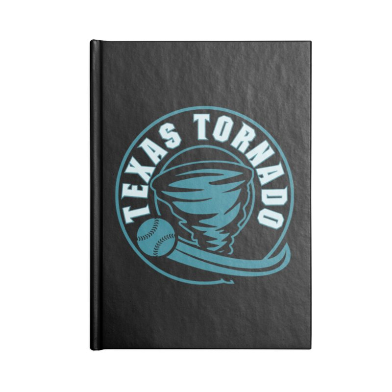 Texas Tornado (Wait for It) Accessories Lined Journal Notebook by M A R I A N A    Z A P A T A