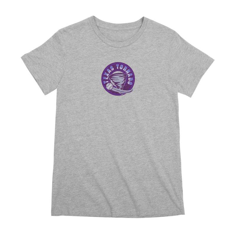Texas Tornado (Wait for It) (Small Design) Women's Premium T-Shirt by M A R I A N A    Z A P A T A