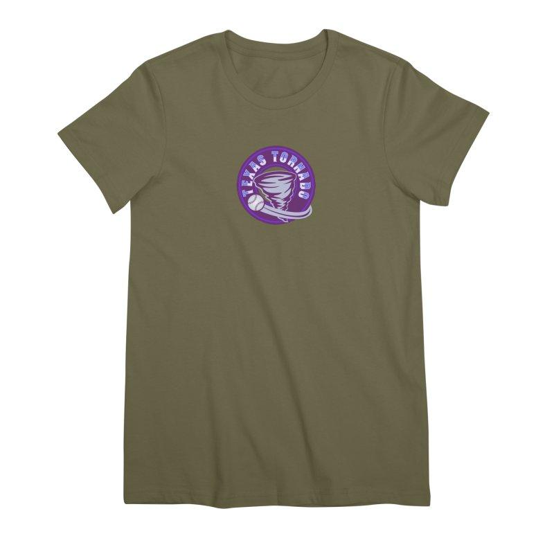 Texas Tornado (Wait for It) Women's Premium T-Shirt by M A R I A N A    Z A P A T A