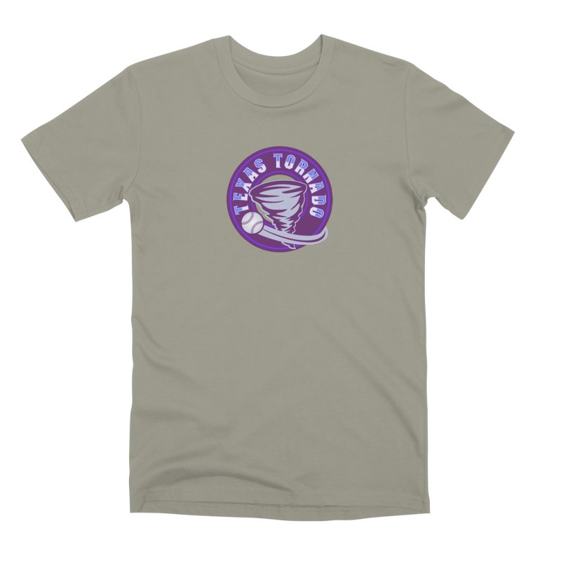 Texas Tornado (Wait for It) (Small Design) Men's Premium T-Shirt by M A R I A N A    Z A P A T A