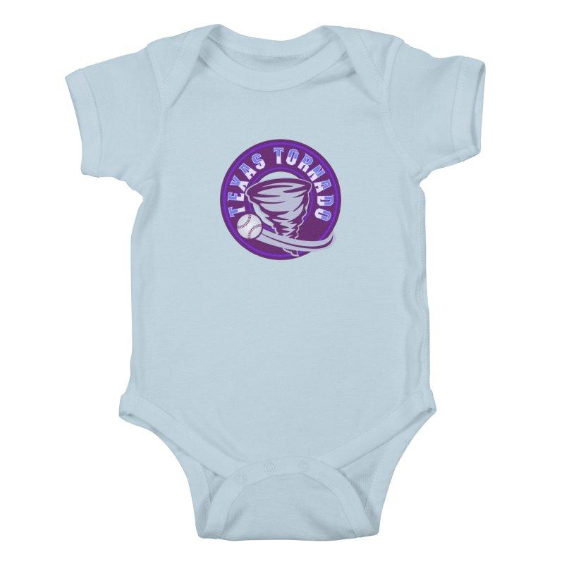 Texas Tornado (Wait for It) (Small Design) Kids Baby Bodysuit by M A R I A N A    Z A P A T A