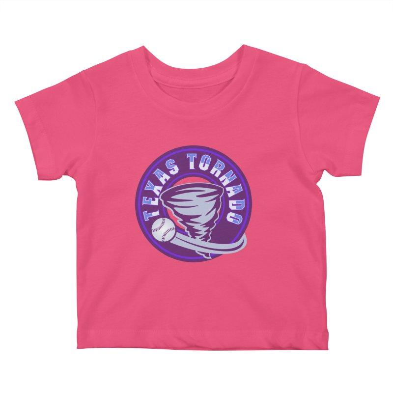 Texas Tornado (Wait for It) (Small Design) Kids Baby T-Shirt by M A R I A N A    Z A P A T A