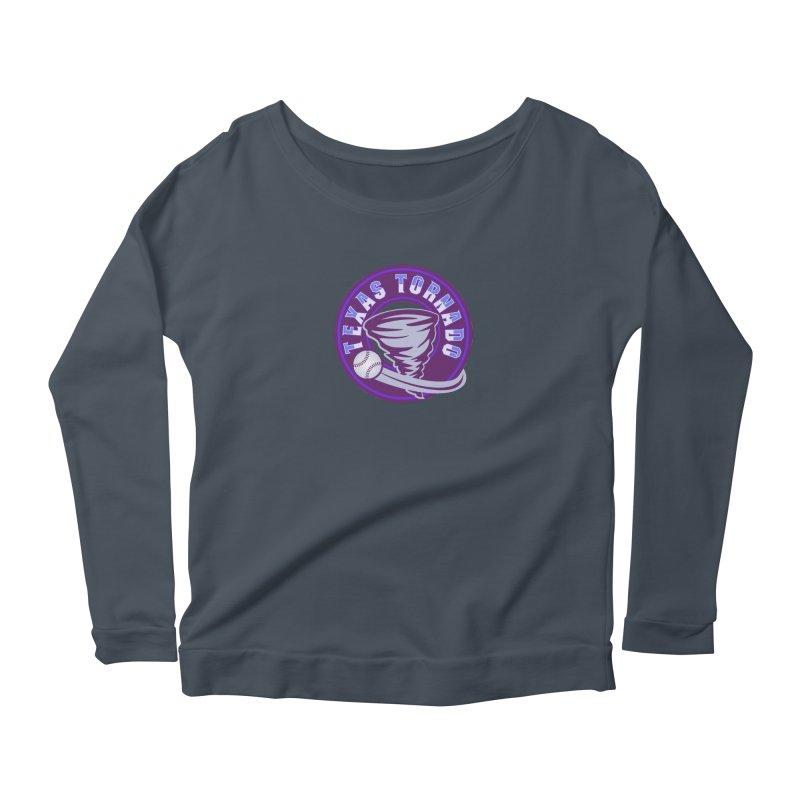 Texas Tornado (Wait for It) Women's Scoop Neck Longsleeve T-Shirt by M A R I A N A    Z A P A T A